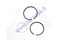 PISTON RINGS FOR SCOOTER ENGINE TIPE GY6  D40  REPLACEMENT +0,75