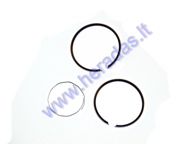 PISTON RINGS FOR SCOOTER ENGINE TIPE GY6 D41 REPLACEMENT +0,25