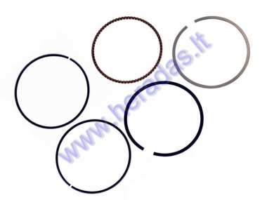 PISTON RINGS SET FOR QUAD BIKE D62 REPLACEMENT +0,25