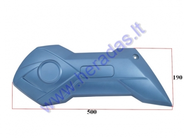 Right side plastic cover  to the rear swing arm for electric scooter HAWK