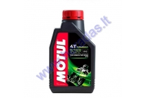 MOTOR OIL FOR 4-STROKE MOTORCYCLE ENGINES MOTUL 5100 10W50 1L