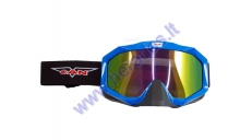MOTORCYCLE GOGGLES BLACK LENS VG830 VCAN OFF ROAD
