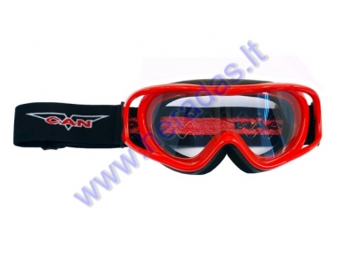 MOTORCYCLE GOGGLES CLEAR LENS VG900 VCAN OFF ROAD