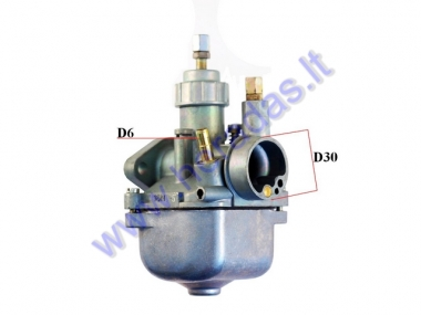 CARBURETOR FOR MOPED MOTORCYCLE 70cc Simson S70 16N3-5 0.72mm