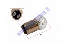 Light bulb for electric scooter, trike scooter white 56V 10/5w