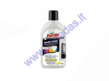 Polirolis Color Magic Turtle WAX  baltos sp.