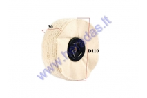 Soft polishing disc (finish)