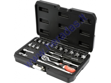 "SOCKET SET 1/4"", 20 pc"