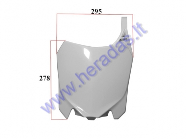 Front plastic cover for motorcycle, fit to MTL250