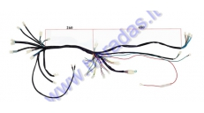 Wiring assembly (wire harness) for quad bike 200cc-250cc
