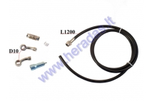 BRAKE HOSE FOR MOTORCYCLE, ATV L120 KIT