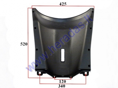 Front plastic cover (by the legs) for electric trike scooter MS01 MS03