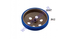 CLUTCH DRUM FOR SCOOTER RACING 107mm 16 TEETH D12