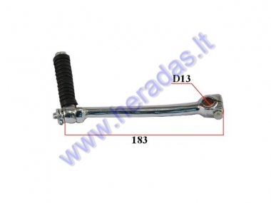 Kick start lever for motorcycle