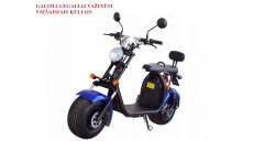 Electric motor scooter CITYCOCO 1500WAT. Can be registrated. (PLEASE CONTACT FOR THE SENDING TERMS AND PRICE: PARDUOTUVE@HERADAS.LT)