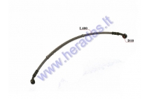 Motorcycle rear brake hose