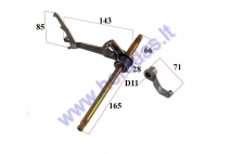 GEAR SHIFT FOR QUAD BIKE WITH SEMI-AUTOMATIC CLUTCH 125cc  L260 D12/11