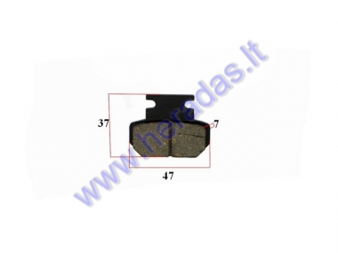 ELECTRIC MOTOR SCOOTER BRAKE PAD FOR CITYCOCO