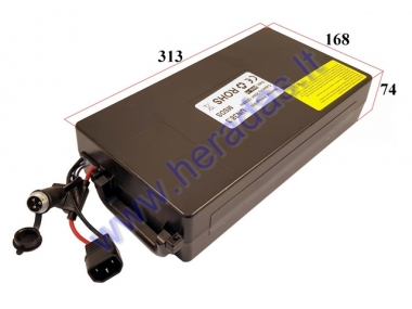 Battery for electric motor scooter, Lithium battery 60V 1200WH fit to CITYCOCO. Placed under the frame.