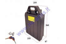 BATTERY FOR ELECTRIC MOTOR SCOOTER, LITHIUM BATTERY 60V 1200WH FIT TO CITYCOCO. Placed under the seat.
