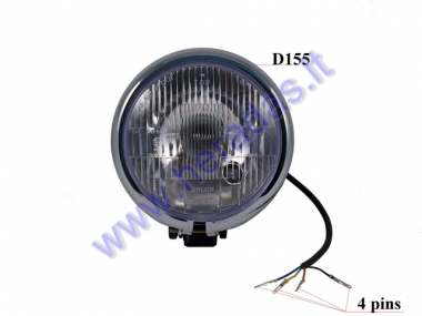 Front light for electric motor scooter  E4 12V fit to CITYCOCO