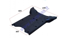 PLASTIC FOOTREST FOR ELECTRIC TRIKE MOBILITY SCOOTER  MS04