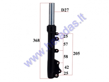 FRONT SHOCK ABSORBER FOR ELECTRIC MOTOR SCOOTER RIGHT SIDE, FIT TO CITYCOCO