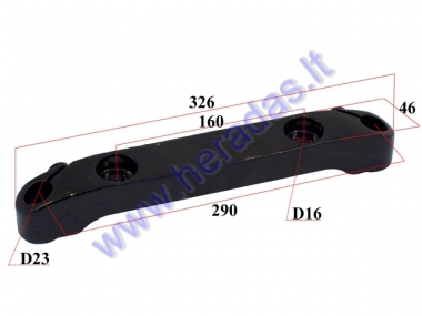 Shock absorber holder for electric motor scooter, fit to CITYCOCO