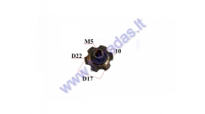 CLUTCH COVER NUT FOR MOTORIZED BICYCLE two stroke 50-80CC ENGINE (USE TOGETHER WITH CBF50151)