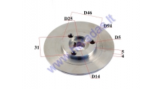 OUTER CLUTCH HOUSING FOR MOTORIZED BICYCLE 50-80CC ENGINE