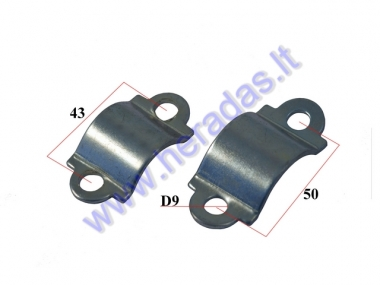 FASTENING HOLDER FOR MOTORIZED BICYCLE ENGINE  50-80cc