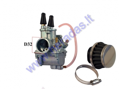 CARBURETOR FOR MOTORIZED BICYCLE 1 CABLE TIUNING
