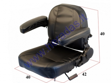 Seat for electric trike mobility scooter MS04 priekinė