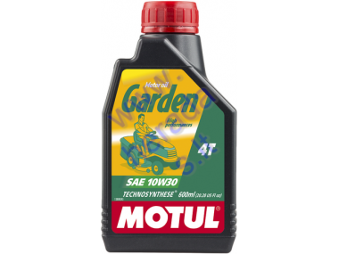 MOTOR OIL FOR LAWN MOWER, GARDEN MINI TRACTORS MOTUL Garden 10W-30 0,6L