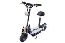 ELECTRIC SCOOTER E FLUX FREERIDE 48V 1000W  Limited Edition GOLD su žibintu