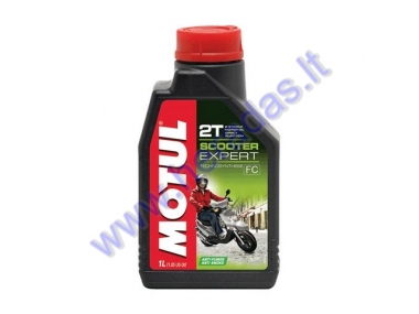 Motor oil for 2-stroke engines MOTUL SCOOTER EXPERT 2T 1l