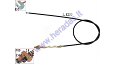 FRONT BRAKE CABLE FOR ELECTRIC TRIKE MOBILITY SCOOTER FIT TO MS04