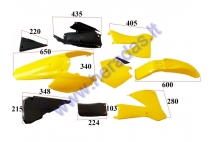 Plastic cover set for 250cc motorcycle LIF