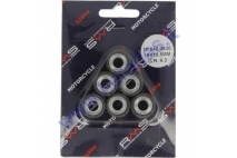 ROLLER KIT FOR SCOOTER 6 PC. 19x15.5 6,3g