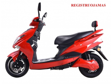 Electric motor scooter HAWK  72V  2KW with Lithium bateries (PLEASE CONTACT FOR THE SENDING TERMS AND PRICE: PARDUOTUVE@HERADAS.LT)