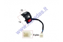 SWITCH ASSEMBLY FOR ELECTRIC MOTOR SCOOTER INDICATOR/HORN/LIGHTS HAWK