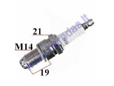 SPARK PLUG FOR MOTORCYCLE BP6ET 1263 NGK