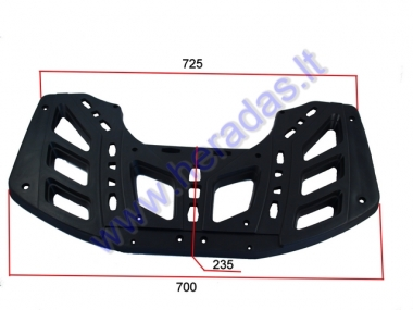 LUGGAGE RACK (front/rear) FOR ATV QUAD BIKE, FIT TO MODEL TREX