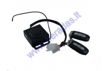 Alarm system with remote for electric trike scooter MS03