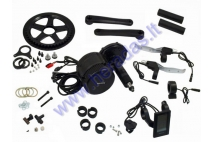 CONVERSION KIT TO ELECTRIC BICYCLE, CRANKSET MOTOR 1000 WAT 48V CRANKSET FIXTURE WIDTH 100mm