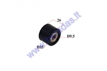Roller for chain guide tensioner