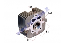 CYLINDER HEAD FOR ATV QUAD BIKE, MOTORCYCLE 200CC 163FML