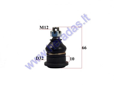 Lower swingarm ball joint D32 M12