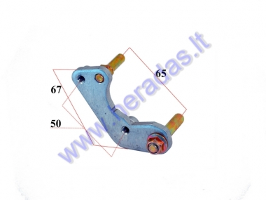 Bracket for front brake caliper motorcycle 70-150cc 51mm