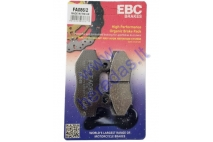 REAR BRAKE PADS FOR MOTOCYCLE  MOTOLAND 250cc  8,4mm thickness